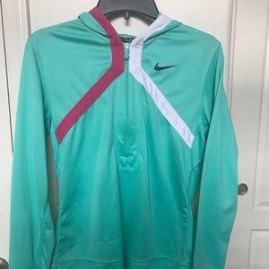 Nike half zip dri-fit hoodie